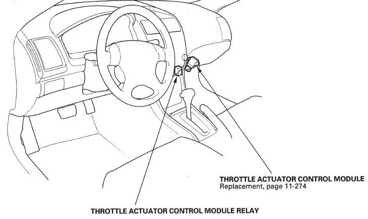 Honda Accord 2003 Throttle Actuator Control Module