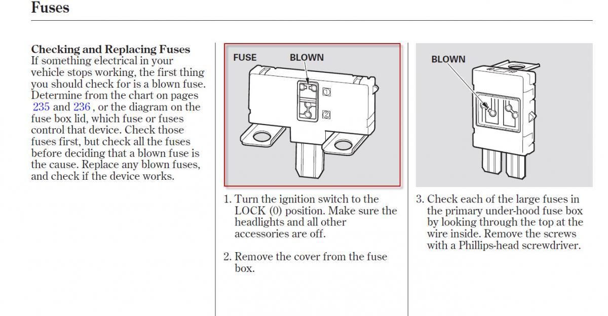 2006 honda civic hybrid fuse box diagram