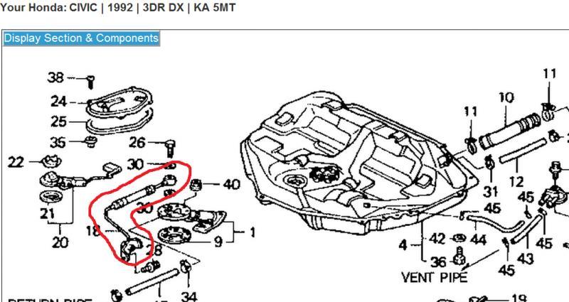 Honda Crv Fuel Line Replacement, Honda, Free Engine Image