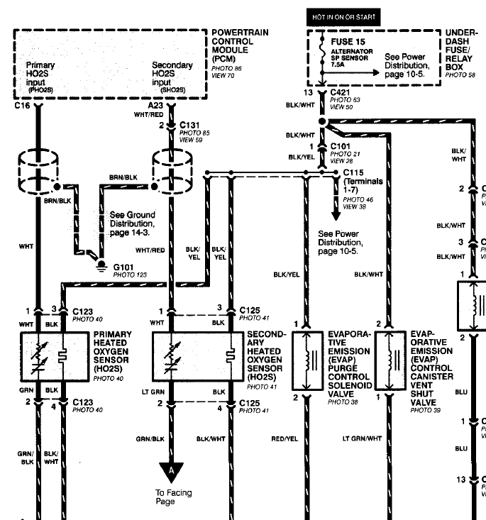 93 Accord O2 Wiring Diagram 93 Accord Firing Order Wiring