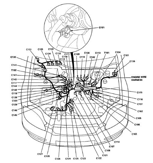 1992 Honda Civic Engine Diagram