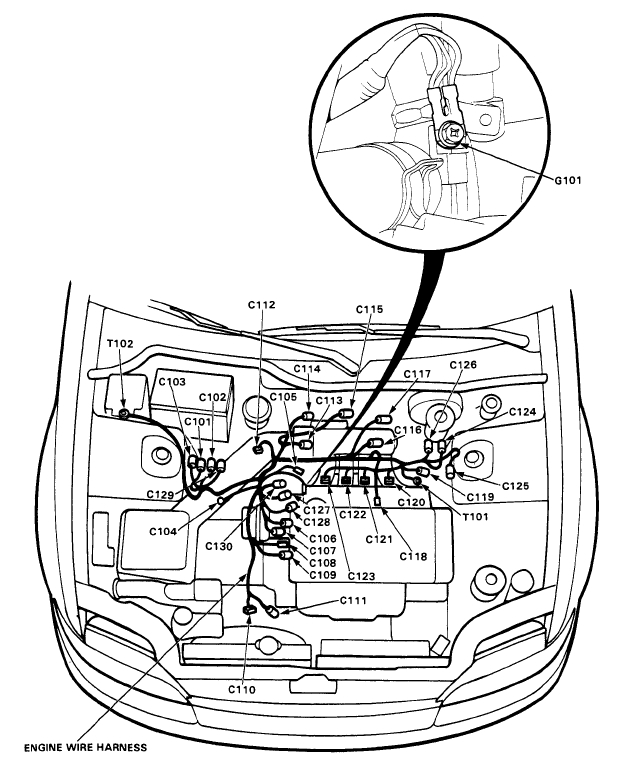 1995 Honda Accord Clutch Diagram, 1995, Free Engine Image