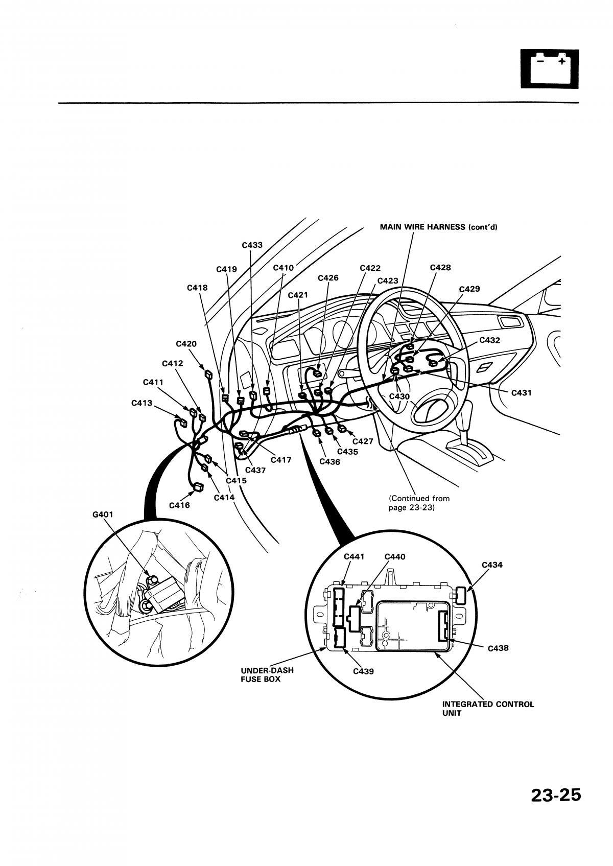 ef civic wiring harness