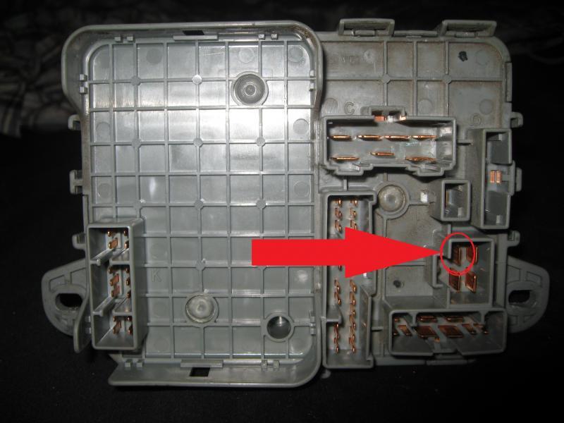 1994 Honda Accord Rear Fuse Box Car Wiring Diagram