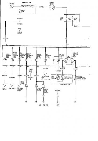 Honda Crx Fuse Box Diagram, Honda, Free Engine Image For