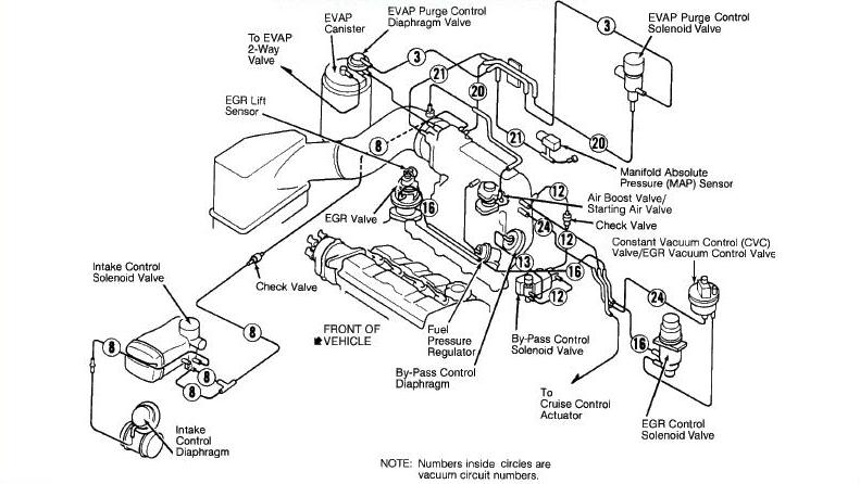 98 Prelude Coolant Hose Diagram, 98, Free Engine Image For