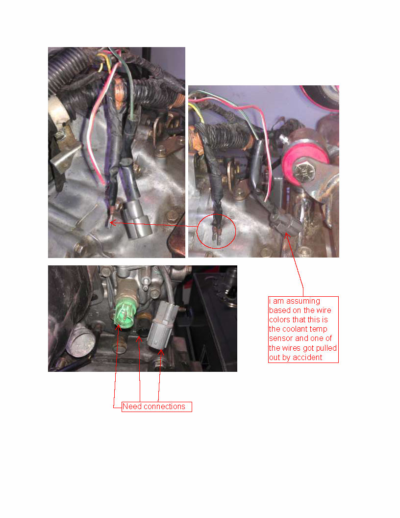 Temp Sensor Here Is A Wiring Diagram It Will Only Have One Wire Going