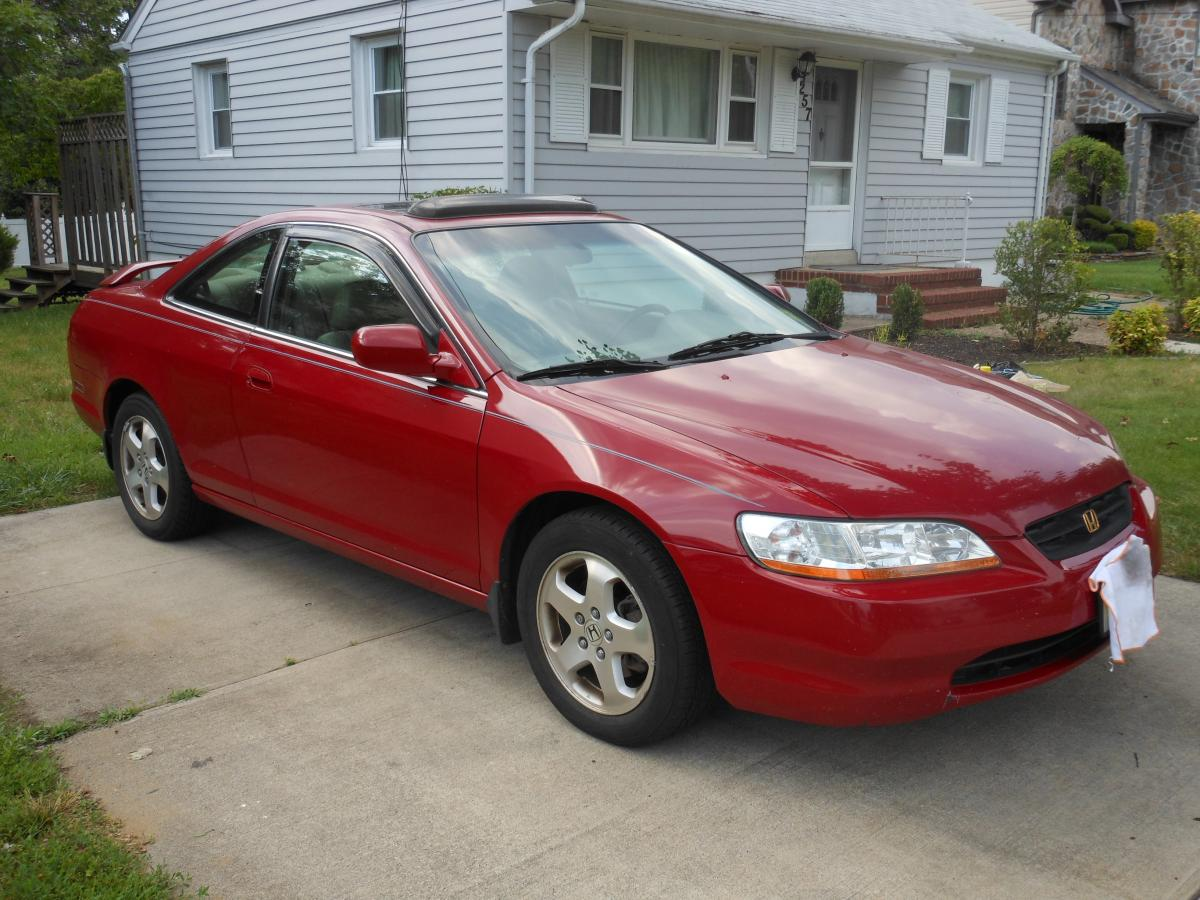 Accord Honda Interior Red Leather 2013