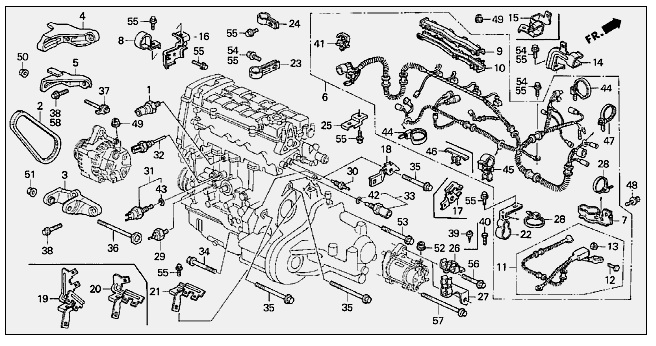 B18a1 Engine Wiring Diagram. Images. Auto Fuse Box Diagram