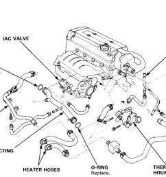 1994 honda accord parts diagram on 2005 honda accord hose diagram 98 prelude coolant hose diagram furthermore 2004 honda accord engine [ 1200 x 723 Pixel ]