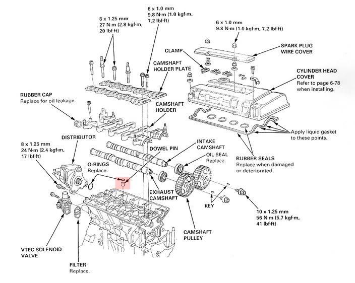 Honda B16a Torque Specs
