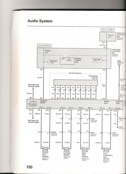 1990 Acura Integra Wiring Diagrams 91 Fuse Box Diagram 2007