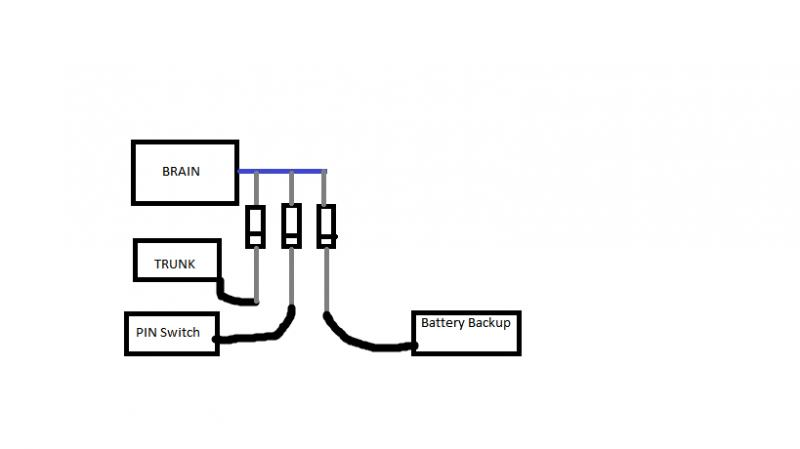 door switch wiring diagram