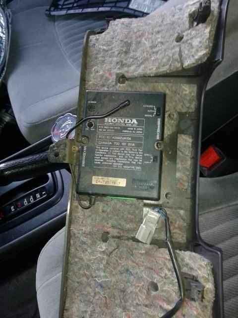 2005 Honda Accord Alarm Wiring Diagram