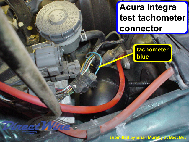 Rpm Tach Wiring Honda Acura Wire Colors With Pictures Honda Tech Honda
