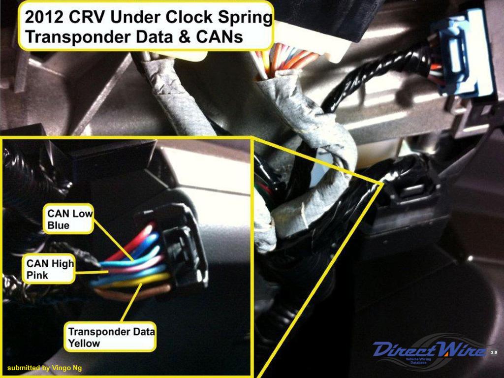Honda Remote Starter Diagram