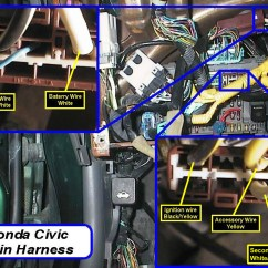 1996 Civic Alarm Wiring Diagram Carrier Air Conditioner Capacitor Honda Acura Wire Colors With Pictures Tech