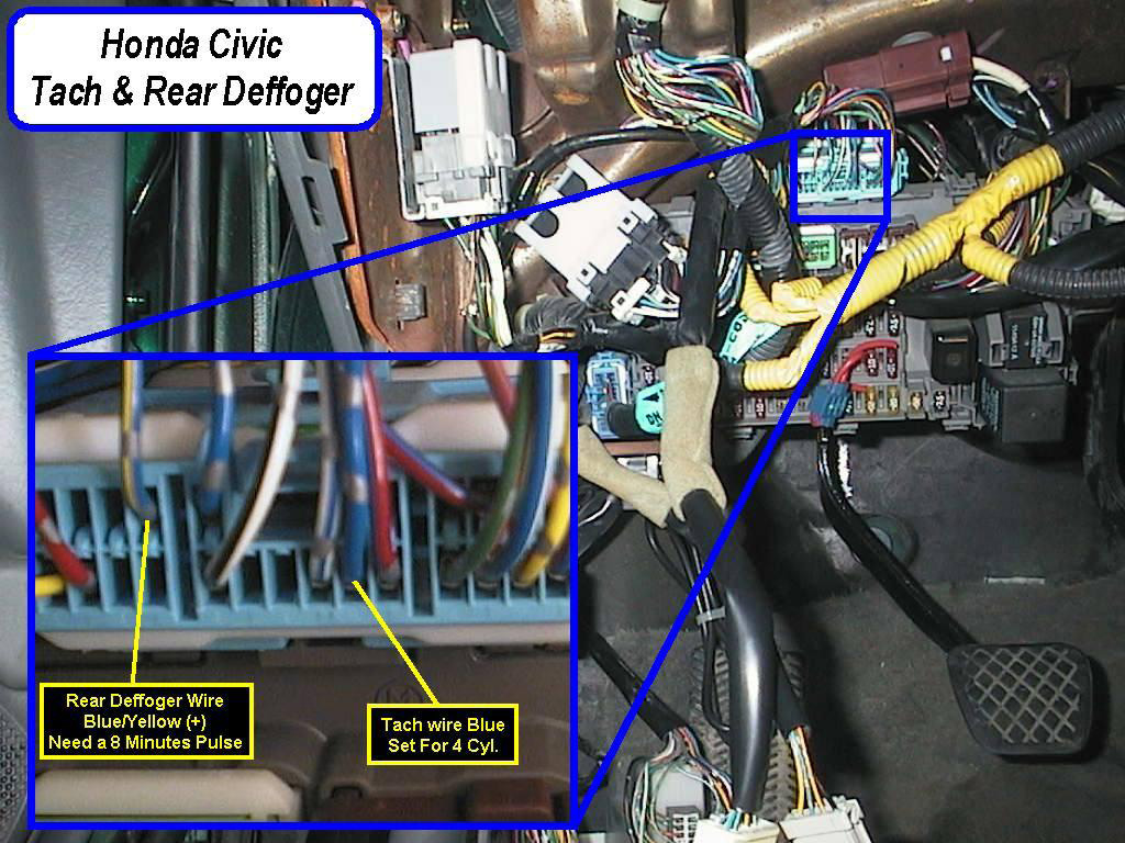 1996 civic alarm wiring diagram 24 volt transformer honda acura wire colors with pictures tech