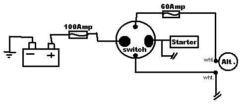 battery disconnect switch wiring diagram ford focus 2005 stereo help my 4 pole - honda-tech honda forum discussion