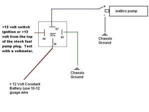 044 Bosch Fuel Pump wiring  HondaTech  Honda Forum Discussion