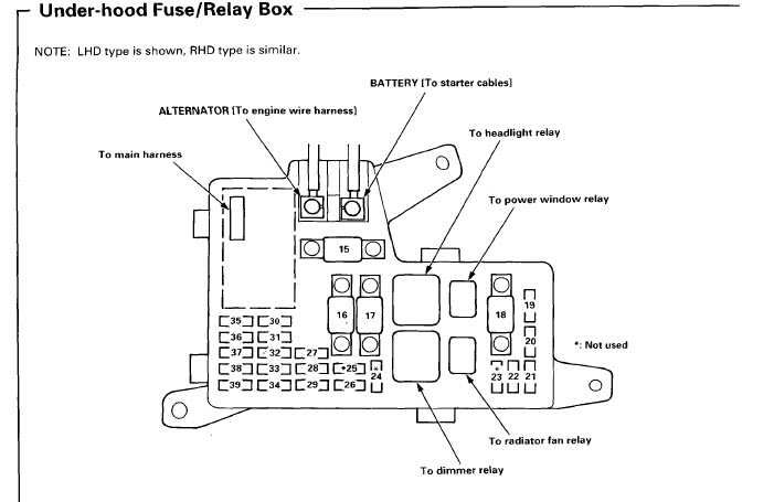 2003 ford f350 wiring diagram 1965 mustang headlight high beams and indicator do not work - honda-tech honda forum discussion