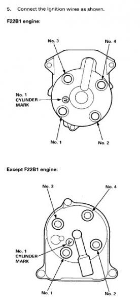 Quick help needed: f22b firing order  HondaTech  Honda