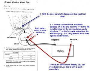 Power Window Issue 94 accord Lx  HondaTech