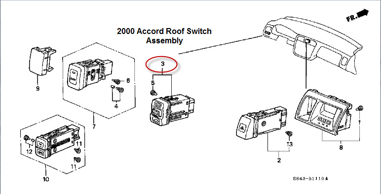 Wiring Diagram PDF: 2002 Honda Cr V Wiring Diagram Roof