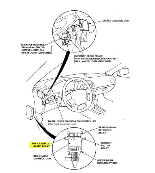 Chevy Turn Signal Relay Wiring Diagram Electrical Circuit