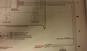Seat belt motor relay, where is it ?  HondaTech  Honda Forum Discussion