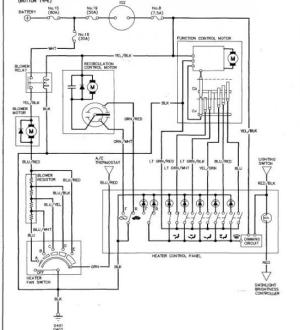 blower motorresistor replacement question  HondaTech  Honda Forum Discussion