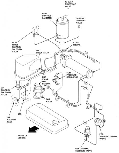 97 Honda Prelude Vacuum Diagram : 31 Wiring Diagram Images