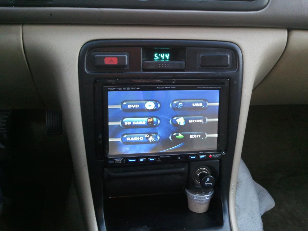 2002 Honda Accord Stereo