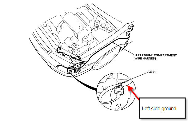Circuit Electric For Guide: 2007 honda civic radio wiring