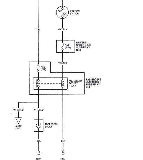 Diagram Civic Honda Fuse 97