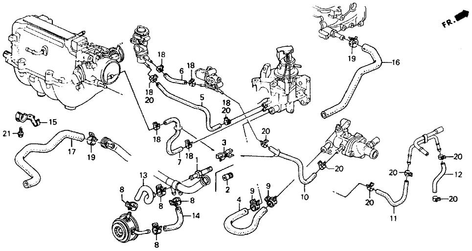 2002 civic engine diagram