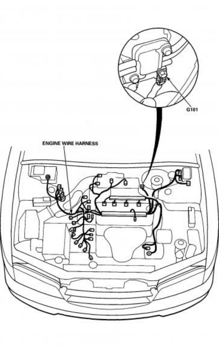 1993 Honda Accord Starter Wiring Diagram