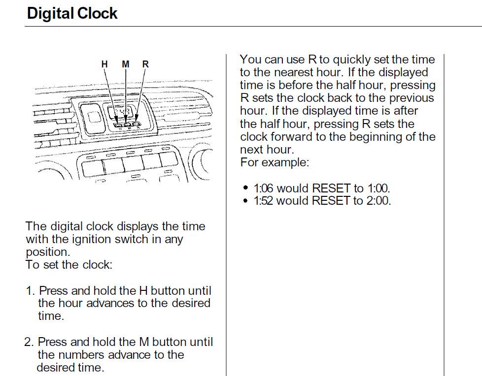 honda civic cd player wiring diagram panel clock wont turn off - honda-tech forum discussion