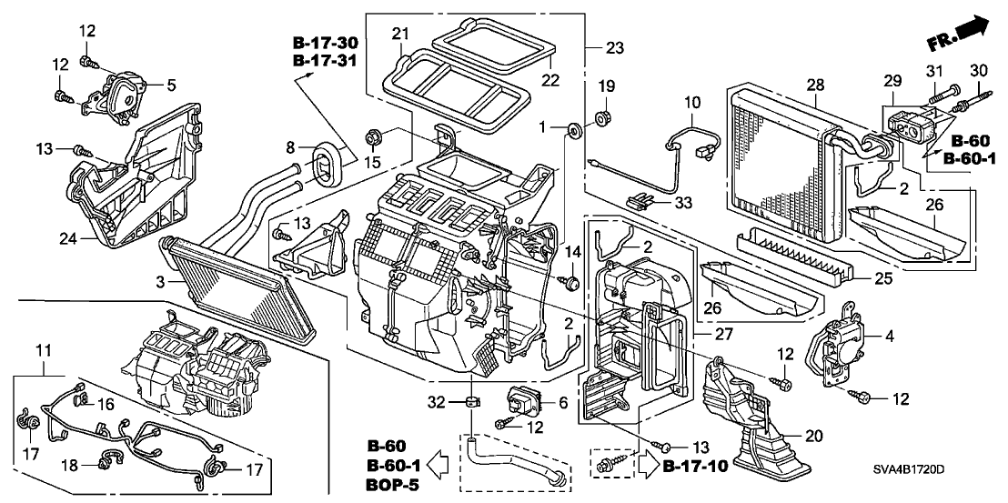 1996 Honda Accord Ex Air Conditioning Diagram. Honda. Auto