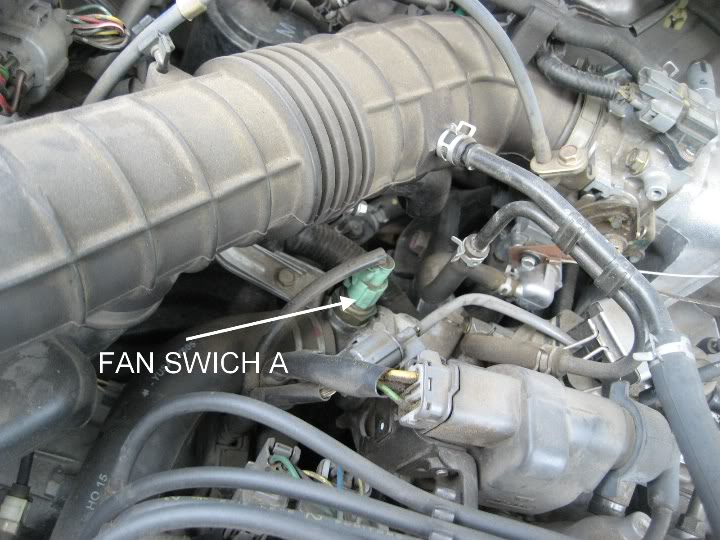 Honda Civic Radiator Fan Switch Location
