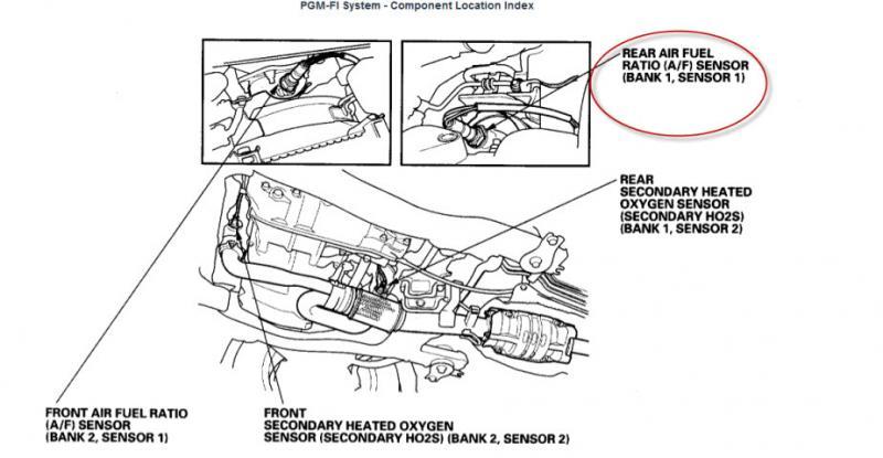 honda pilot oxygen sensor