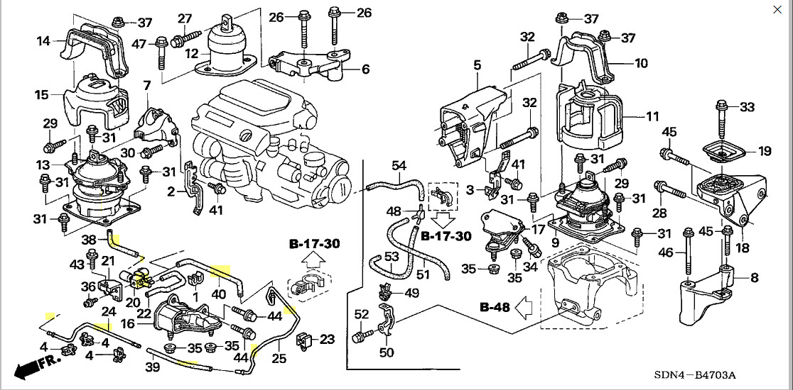 How To Replace Front Motor Mount Honda Accord