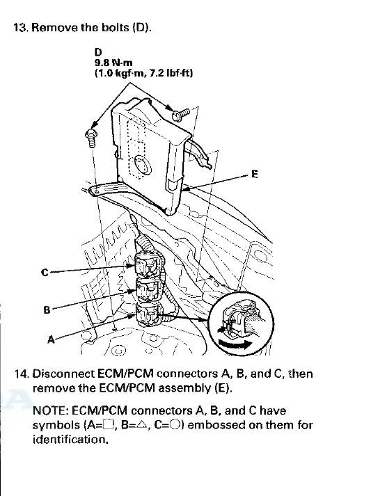 ecu replacement