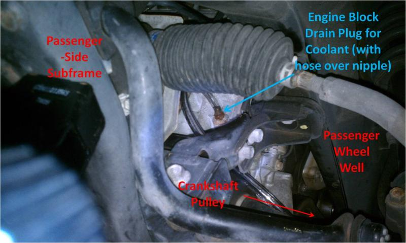 2003 Honda S2000 Fuel Filter Searched Couldn T Find Pic Of Coolant Drain Plug On