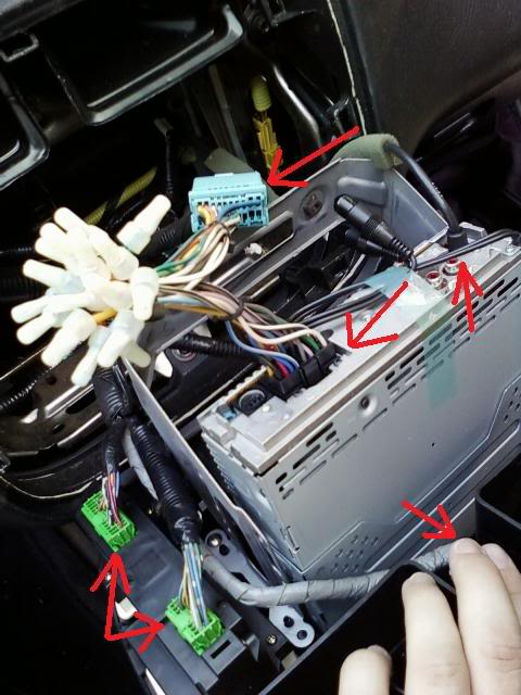 2001 Honda Radio Wire Plug Diagrams