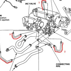 D16z6 Wiring Harness Diagram Ford Duraspark Ignition Mini Me Vacuum Hose Issues - Honda-tech Honda Forum Discussion