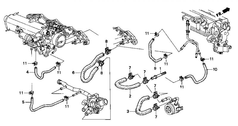 H22a4 Engine Harness Diagram D15B7 Engine Diagram Wiring