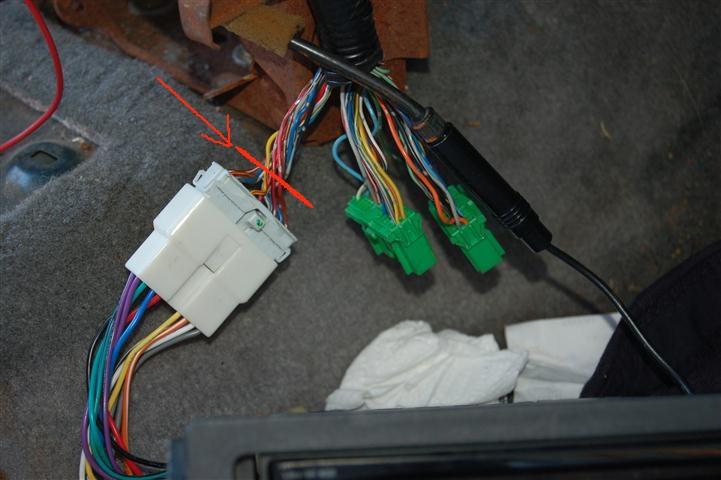1994 Honda Civic Radio Wiring Harness