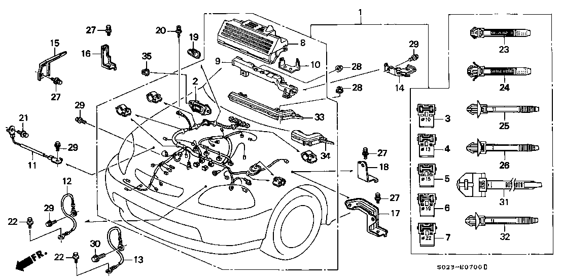 Honda Civic Audio Wiring Harness Diagram. Audi. Wiring