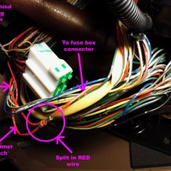 Trail Tech Light Switch Wiring Diagram Ford Mondeo Car Stereo Honda Combination Connector Autos Post